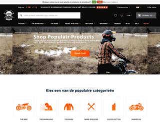 caferaceronderdelen.nl screenshot