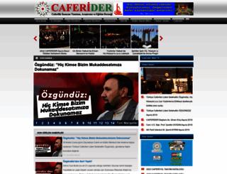 caferider.com.tr screenshot
