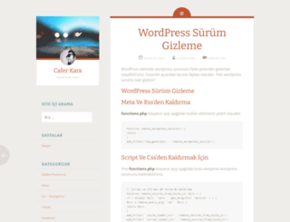 caferkara.org screenshot