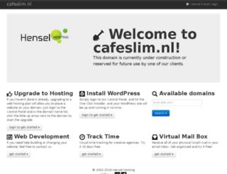 cafeslim.nl screenshot