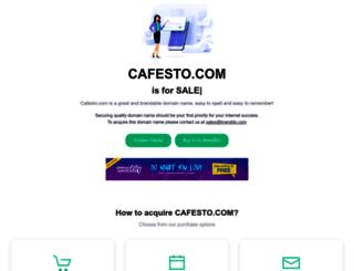 cafesto.com screenshot