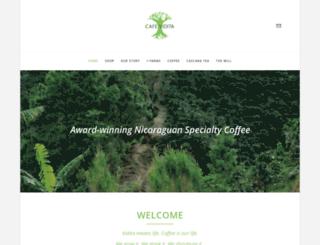 cafevidita.com screenshot
