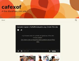 cafexof.wordpress.com screenshot