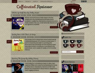 caffeinatedbookreviewer.com screenshot
