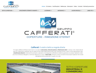 cafferati.it screenshot