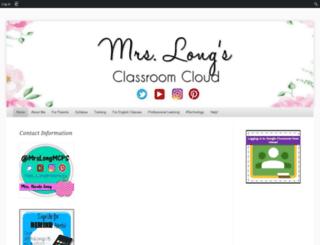 cafsclass.edublogs.org screenshot
