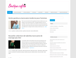 caftan-boutique.net screenshot