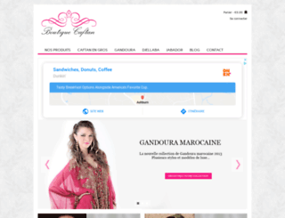 caftan-du-maroc.net screenshot