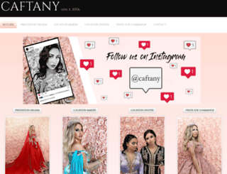 caftany.fr screenshot