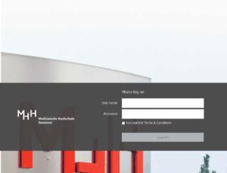 cag.mh-hannover.de screenshot
