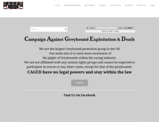 cagednw.co.uk screenshot