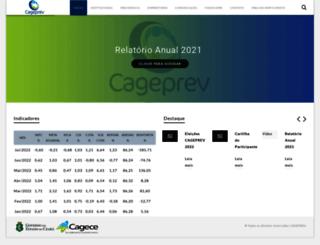 cageprev.com.br screenshot