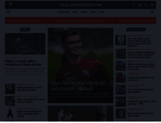 cagliarinews24.com screenshot
