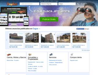 cagua.doplim.com.ve screenshot