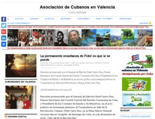 caguairan.org screenshot