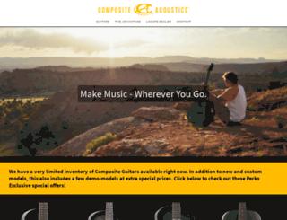 caguitars.com screenshot