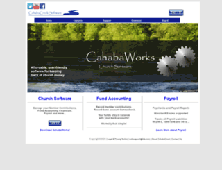 cahabacreek.com screenshot