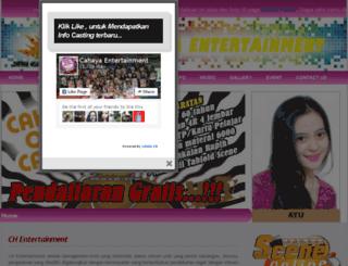cahayaentertainment.com screenshot