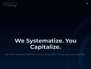 cahillconsultingpartners.com screenshot