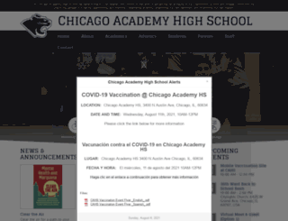 cahs.auslchicago.org screenshot