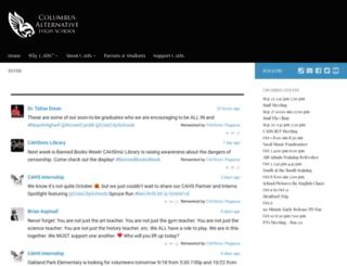 cahs.info screenshot