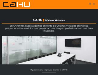 cahu.com.mx screenshot