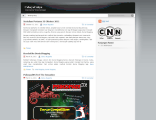 cahyanugraha.wordpress.com screenshot