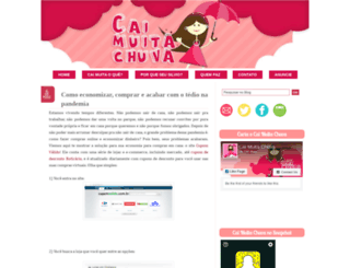 caimuitachuva.blogspot.com screenshot