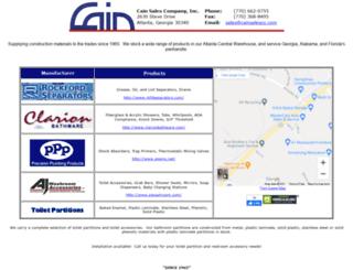 cainsalesco.com screenshot