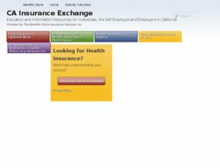 cainsurancexchange.net screenshot