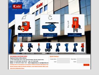 cairactuators.com screenshot