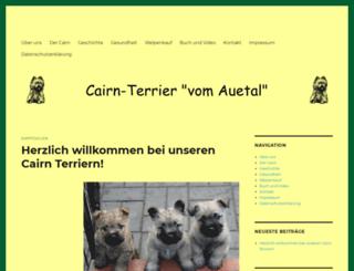 cairn-terrier.de screenshot