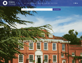 cairnhotelgroup.com screenshot