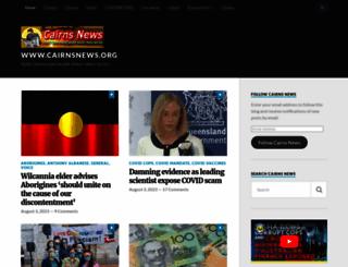 cairnsnews.org screenshot
