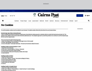 cairnspost.com.au screenshot