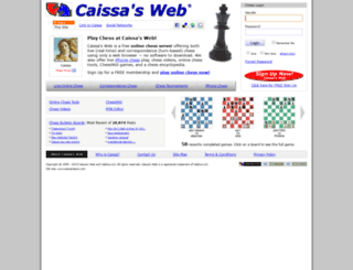caissa.com screenshot