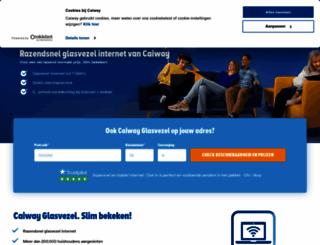 caiway.nl screenshot