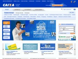 caixa.com.br screenshot