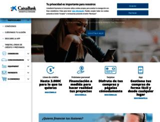 caixabankconsumer.com screenshot