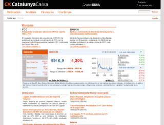 caixacatalunya.ahorro.com screenshot