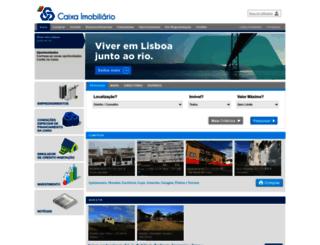 caixaimobiliario.pt screenshot