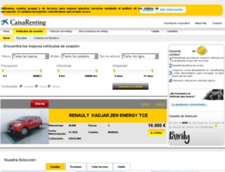 caixarentingocasion.es screenshot