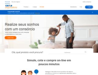 caixaseguros.com.br screenshot