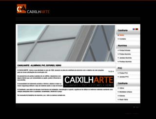 caixilharte.com screenshot