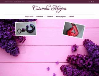 caixinhamagica.com.br screenshot