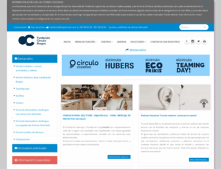 cajacirculo.com screenshot