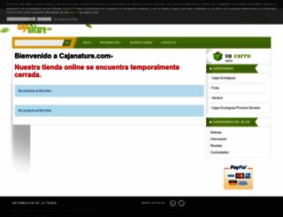 cajanature.com screenshot