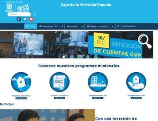 cajaviviendapopular.gov.co screenshot