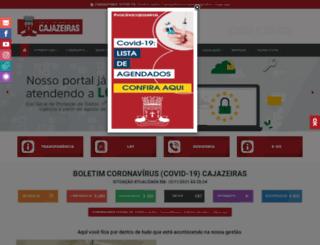 cajazeiras.pb.gov.br screenshot