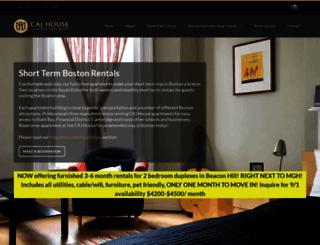 cajhouse.com screenshot